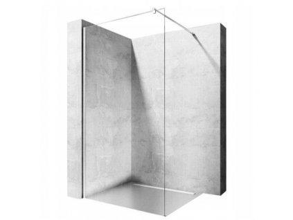 REA - Sprchová zástěna Flexi 80 transparentní ,chrom