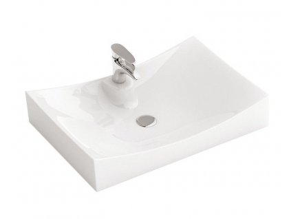 REA - Umyvadlo na desku Impero N 67x39 bílé