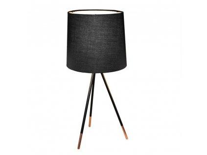 Stolní lampa, černá, JADE TYP 4