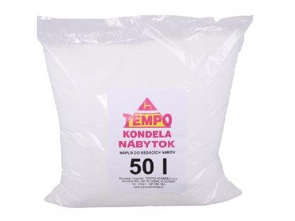 Náplň do sedacích vaků, EPS polystyrénové kuličky, balení 50 l
