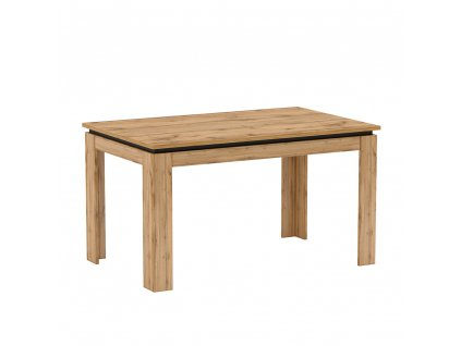 Jídelní rozkládací stůl, dub Wotan, TORONTA S