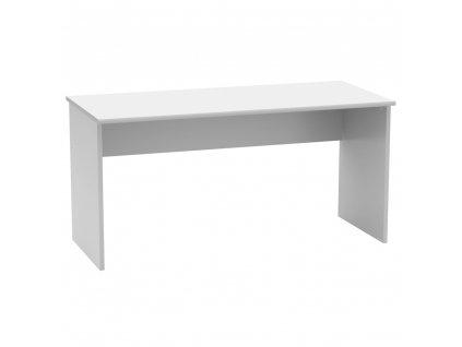 Psací stůl, bílá, JOHAN 2 NEW 01
