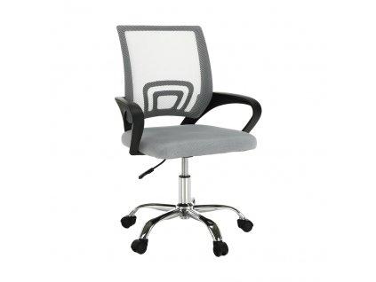 Kancelářská židle, šedá / černá, DEX 2 NEW
