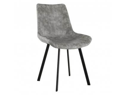 Jídelní židle, šedá, NIRO