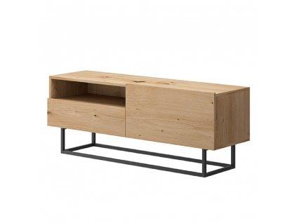 RTV stolek bez podstavy, dub artisan, SPRING ERTVSZ120