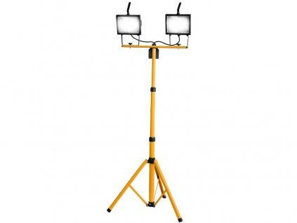 Lampa stojanová dvojitá 230V 2x500W halogen