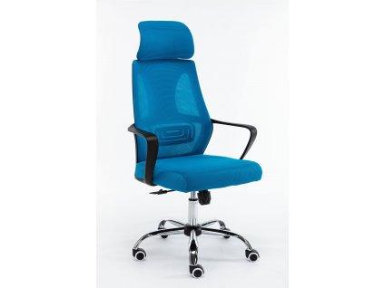 Kancelářské křeslo otočné NIGEL, modrá
