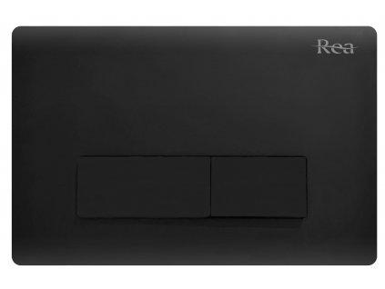 REA - Tlačítko pro podomítkové moduly černé