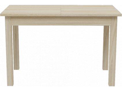 Jídelní rozkládací stůl, dub sonoma, KEVIN 120 cm