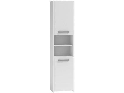 S40 vysoká skříňka, bílá 40x170x30cm