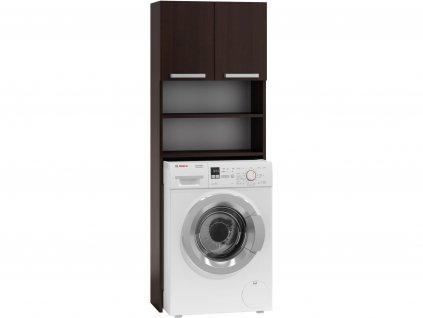 POLA skříňka za pračku, 183x63x30 cm, wenge