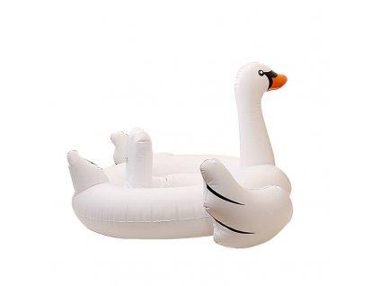 FLEXIFIT - Dětská nafukovací vodní matrace labuť