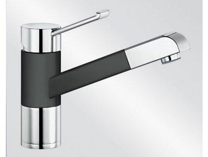 Blanco ZENOS-S Keramika-look dvoubarevná černá/chrom