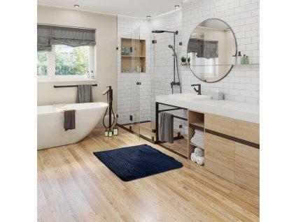 Koberec Karvag protiskluzový, tmavě šedá, 40x60
