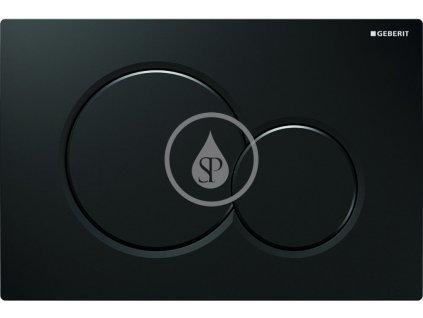 Geberit - Ovládací tlačítko Sigma01, černá