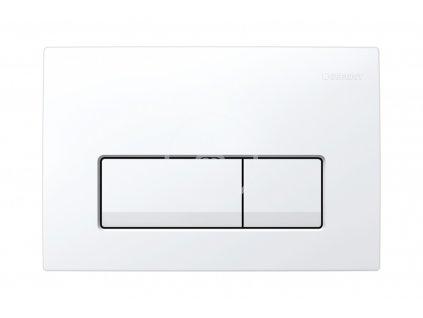 Geberit - Ovládací tlačítko Delta51, alpská bílá