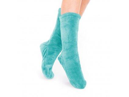 Ponožky Olma tyrkysově modrá, one size