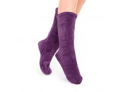 Ponožky Olma tmavě fialová, one size