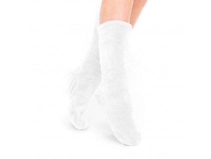 Ponožky Olma bílá, one size