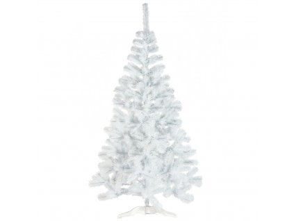 Umělý vánoční stromek jedle bílá sníh 150cm