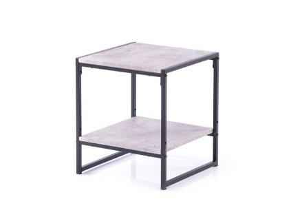 Konferenční stolek Coxe kámen, 40x40x45 cm