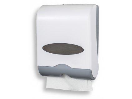 Zásobník na papírové ručníky, bílý