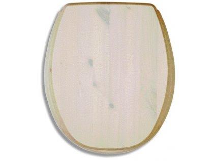 Sedátko tvarované dřevo