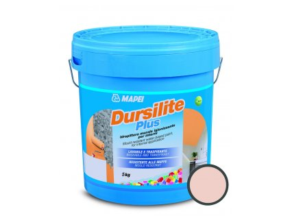 Interiérová barva Mapei Dursilite Plus 5 kg starorůžová DURSILITEP5SR