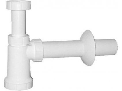 Umyvadlový sifon 1'1/4 odpad 40 mm, bílá