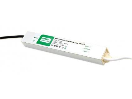 Napájecí zdroj 30W, 230/12V, vodotěsný, IP67