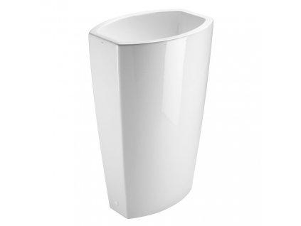 ELEMENT FREE keramické umyvadlo do prostoru 55x85x38 cm, bílá ExtraGlaze