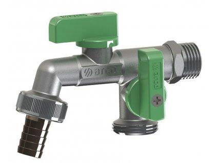 ARCO zahradní ventil Nano se dvěma vývody 1/2'x3/4'x3/4', anticalc