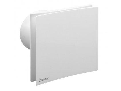 EIRA koupelnový ventilátor axiální s časovačem, 15 W, potrubí 100 mm, bílá