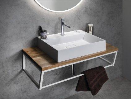 SKA konstrukce pod umyvadlo/desku, 900 mm, bílá mat