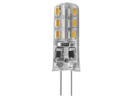 LED žárovka 1,5W, G4, 12V, teplá bílá, 180lm