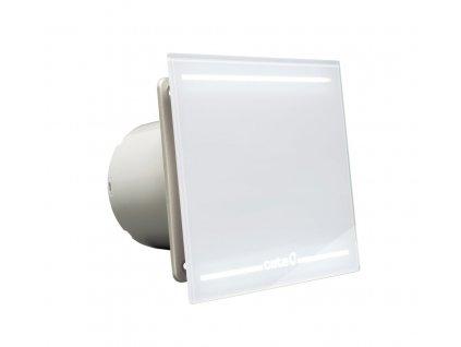 E-100 GL koupelnový ventilátor axiální, 8W, potrubí 100mm, LED podsvícení, bílá