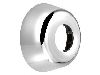 Náhradní rozeta vysoká 33mm, průměr 80/32 mm, ABS/chrom