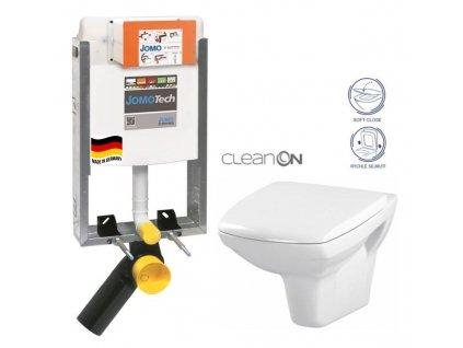 JOMO modul pro zazdění bez sedátka + WC CERSANIT CLEANON CARINA + SEDÁTKO 164-14600479-00 CA2