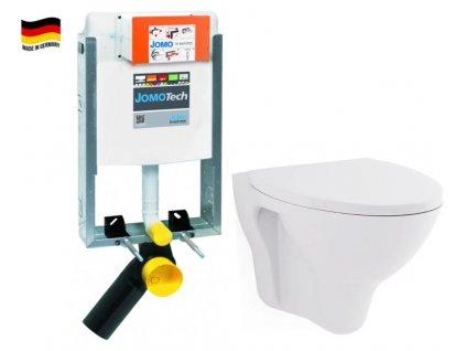 JOMO modul pro zazdění bez sedátka + WC CERSANIT ARES + SEDÁTKO 164-14600479-00 AR1