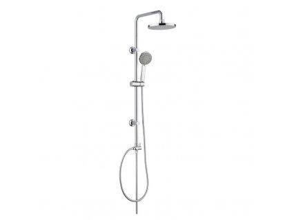 Sprchová souprava Sonáta - plastová hlavová sprcha a třípolohová ruční sprcha