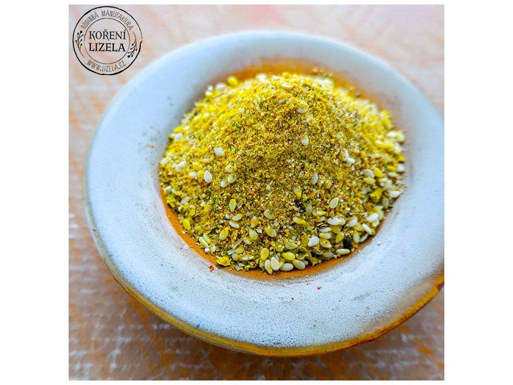 Bambova sůl koření na salát