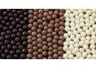 Čokoládové křupinky, posypy a dekorace