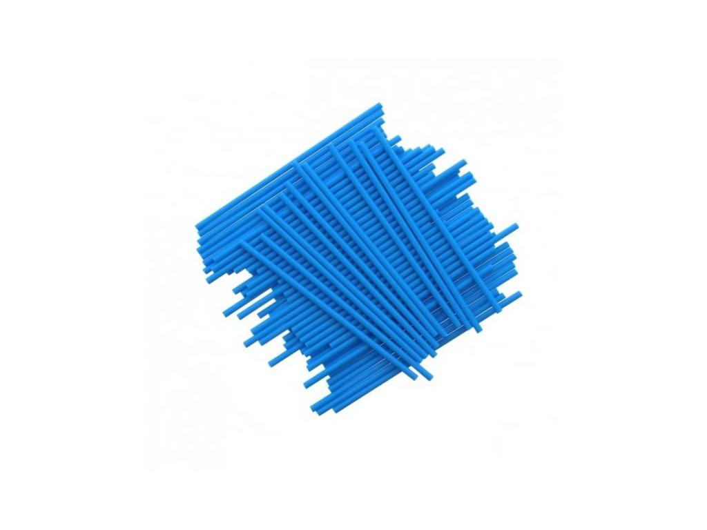 Plastové tyčinky, 15cm, 25ks, modré