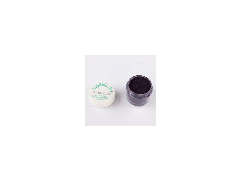 Prachová matná barva Aubergine