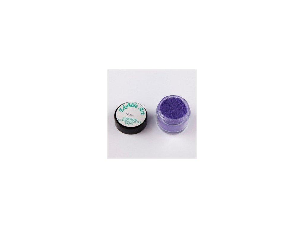 Prachová matná dekorační barva Iris