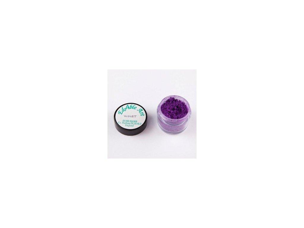 Prachová matná dekorační barva Violet