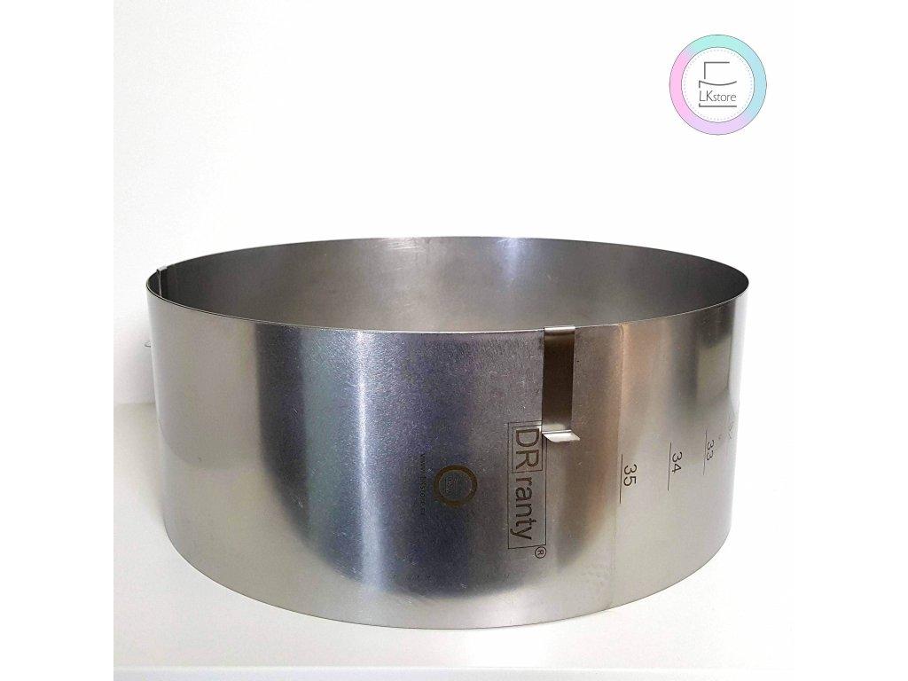 Nastavitelná forma kruhová 31-41cm (výška 14cm)