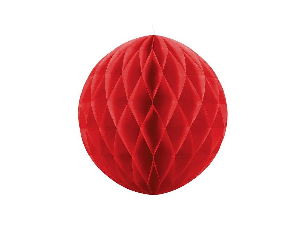 Dekorační koule červená, 20cm