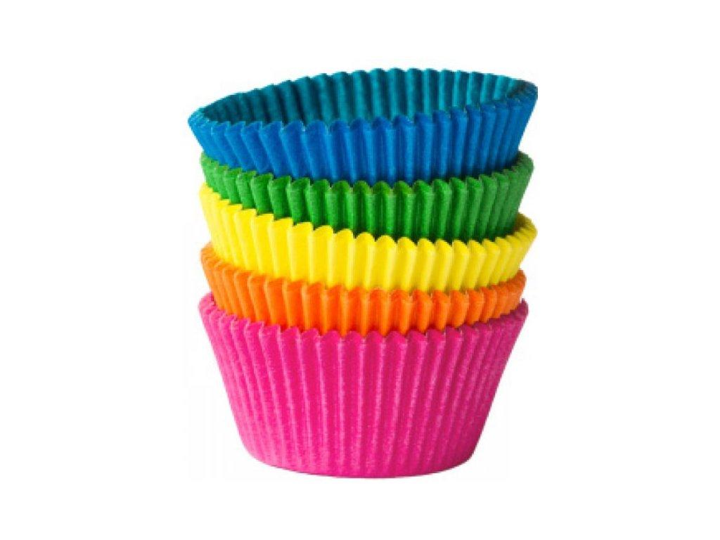 Cukrářské košíčky 50x30mm, mix barev Wimex, 100ks