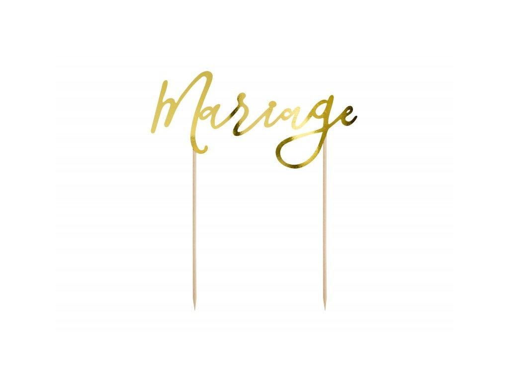 Zápich Mariage zlatý